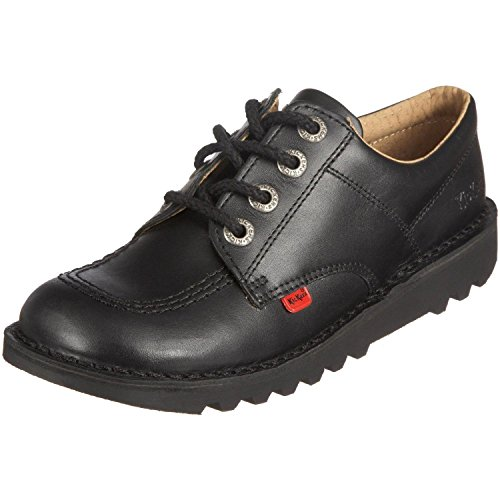 Kickers Kick Lo Youth Junior Size 3 Uk / 36 EU Leather...