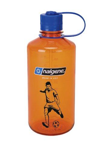 Nalgene Flasche 'Everyday' - 1 L, orange, Fussball