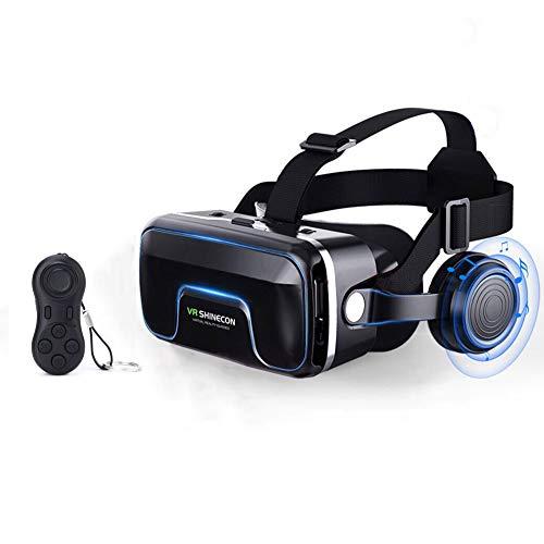 Vr-Controller, Brille VR Large Viewing Intensives Erlebnis 3D-Virtual-Reality-Brille VR Brille Mit Hifikopfhörer
