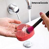 InnovaGoods Limpiador de Brochas y Pinceles de Maquillaje Heart - 1 Unidad