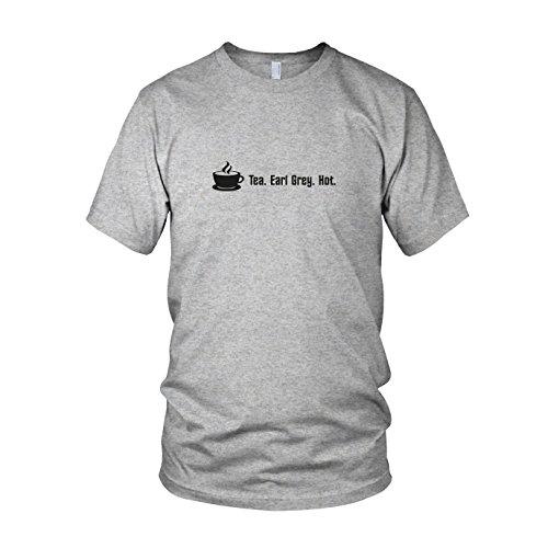 - Herren T-Shirt, Größe: XL, Farbe: grau meliert (Hot Herren Kostüme)