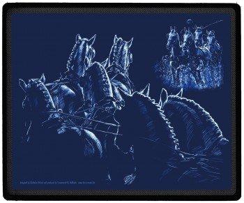 "Eye-catcher desktop mouse pad mousepad motivo cavallo ""sport guida lightline squadra nuova collezione (22676) cavalli geneviève"