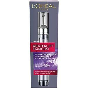 L'Oréal Paris Revitalift Filler Siero Concentrato Rivolumizzante, 16 ml