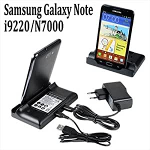 (45 Days Ocean Shipment) For Samsung Galaxy Note i9220 N7000 Battery+Dock USB Sync Cradle AC Charger NEW Enlarge Sell one like this 	 For Samsung Galaxy Note i9220 N7000 Battery+Dock USB Sync Cradle AC Charger NEW