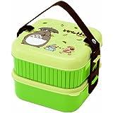 Bento: Studio Ghibli Totoro Design 2-tier Bento Lunch Box (Volume: 620ml + 630ml)