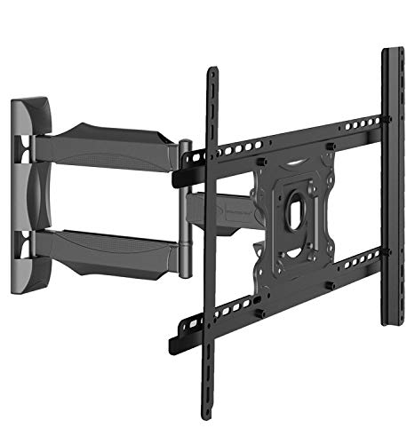"Invision TV Wall Mount Bracket Ultra Slim Tilt Swivel Cantilever Arm For 26"" - 55"" LED, LCD, Plasma Screens Max VESA 600mm [w] x 400mm [h] - Please Check TV VESA Mounting Holes Before Purchase [A3]"