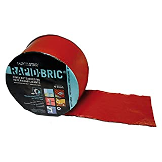 Self-Adhesive Weatherproof Tape, Brick Red, 120 x 16