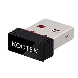 Kootek Raspberry Pi Wifi Dongle Adapter - 150Mbps Fully Compatible USB Wifi For Raspberry Pi/Windows /Linux/Mac OS