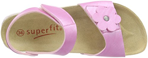 Superfit Fussbettpantoffel, Chaussons Mules Fille Rose (camelia 60)