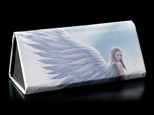 Fantasy Brillenetui mit Engel-Motiv - Spirit Guide | Hartschale, Hardcase, Motiv von Anne Stokes