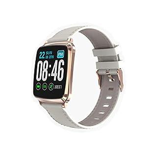 HQHOME Smartwatch,Fitness Armband Fitness Uhr Voller Touch Screen IP67 Wasserdicht Fitness Tracker Sportuhr mit Schrittzähler Pulsuhren Stoppuhr für Damen Herren Smart Watch für iOS Android Handy