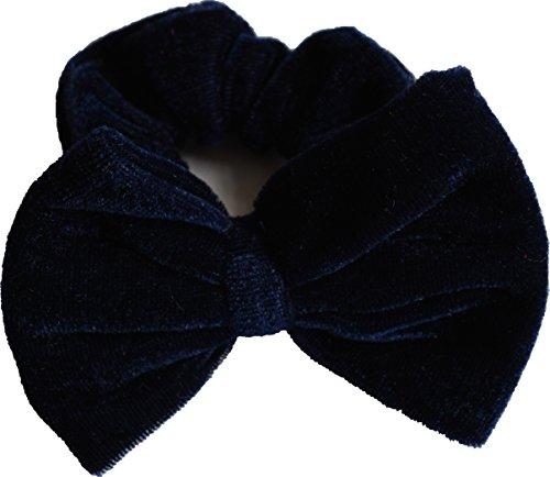 Aadya® chouchous en velours avec nœud élastique Chouchou élastiques à cheveux Chouchou
