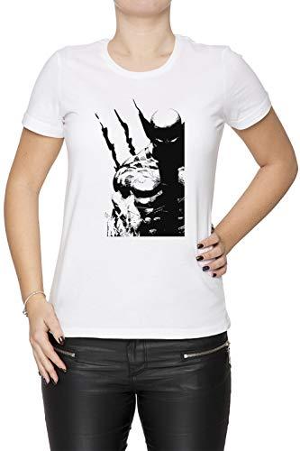 Los Mejor A Qué Yo Hacer Mujer Camiseta Cuello Redondo Blanco Manga Corta Tamaño XS Women's White T-Shirt X-Small Size XS