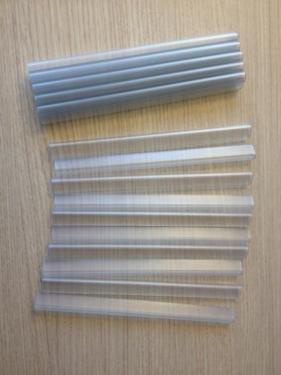Smart Deko Clips de fixation pour lamelles d'occultation / de clôture 19x1,5cm Transparent