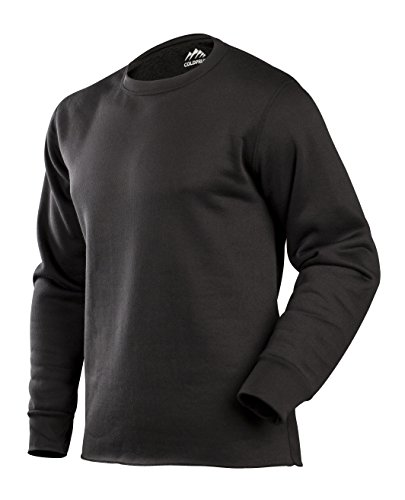 ColdPruf Herren Expedition Single Layer Long Sleeve Base Layer Top Small schwarz -