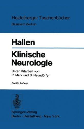 Klinische Neurologie (Heidelberger Taschenb????cher) (German Edition) by O. Hallen (2013-10-04)
