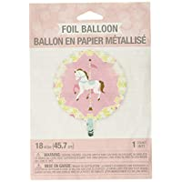 Creative Convertting 8C329356 Giostra-Carousel Foil Balloon 18-45 cm Multi-Coloured