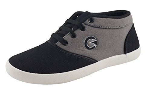 Globalite Women's Casual Shoes Grey Black GSC1170-5 UK/IN