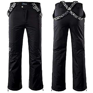 Brugi 4AIW Men's Ski/Sport Trousers 5000 mm, Black, XXL
