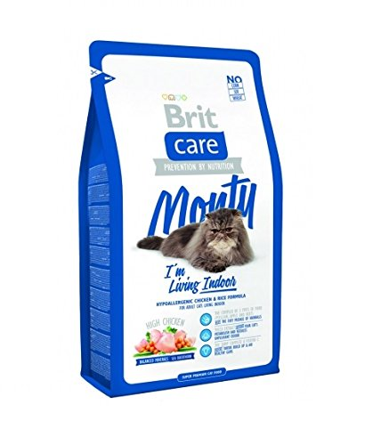 BRIT Care Cat Monty I'm Living Indoor Croquette pour Chat Adulte 7 kg