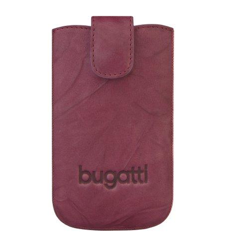 Preisvergleich Produktbild Bugatti unique Leder SlimCase für Smartphone Größe L burgundy