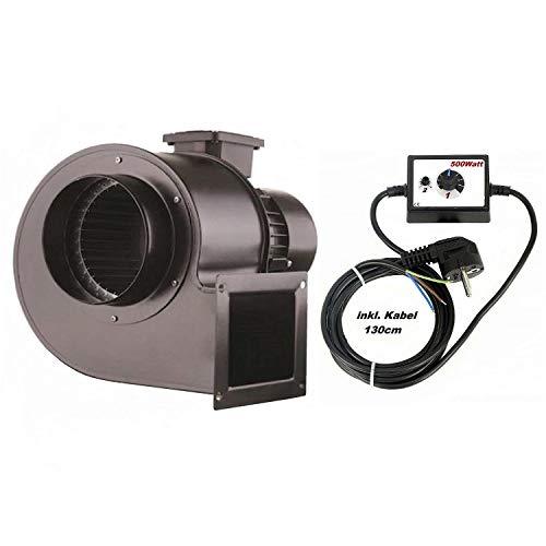 1850m3/h Industrie Radial Centrifuge Ventilateur avec variateur de vitesse 500Watt , Centrifuge Industriel Conduit Extracteur Aspiration Ventilacion Radial Valve ator Radial Ventilateurs industrielles