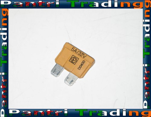 BMW Brown 5 A Amp Blade Type Spare Fuse 1386626