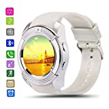 CatShin Smartwatch Android-Reloj Inteligente Mujer Hombre CS05 con Ranura para Tarjeta SIM/TF,Reloj Deportivo Cronómetro Podómetro Monitor de Sueño Fotografía Remota-Reloj Deporte Smart Watch