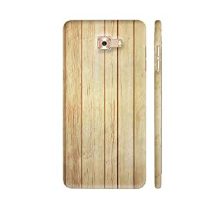 Colorpur Light Wood Print Printed Back Case Cover for Samsung C9 Pro