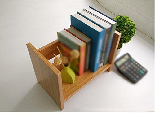 Librería Libro Stand 330 * 200 * 250 Mm Woody Estante Mesa Escritorios Oficina Niño Creativo Negro Blanco ( Color : #4 )