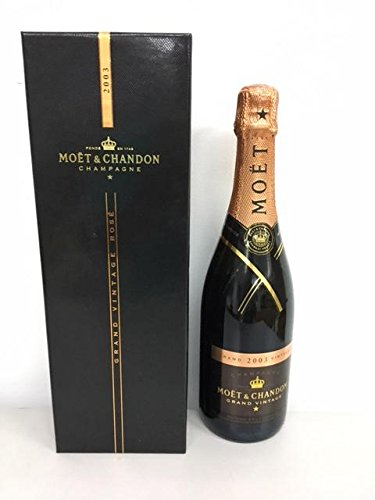 Moet and Chandon Rose Vintage Champagne 2003