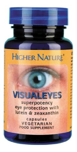 Visual Eyes - Puissant phytocomplexe antioxydant lutéine + zéaxanthine - 30 gél - Higher Nature