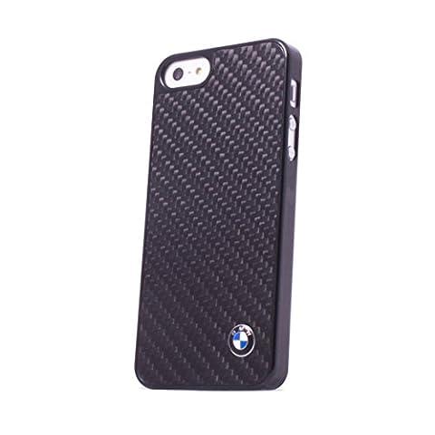 BMW Signature Collection Coque rigide Fibre de carbone pour iPhone 5 SE/5s