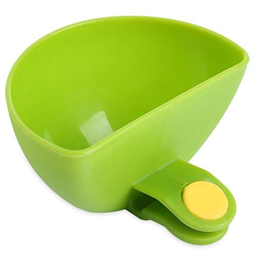 Fjiujin,Kreative Mehrzweckhalterung Würze Gericht Küchenwerkzeuge(color:GRÜN)