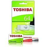 Toshiba THN-U202W0640E4 - Memoria USB 2.0 de 64 GB, color blanco