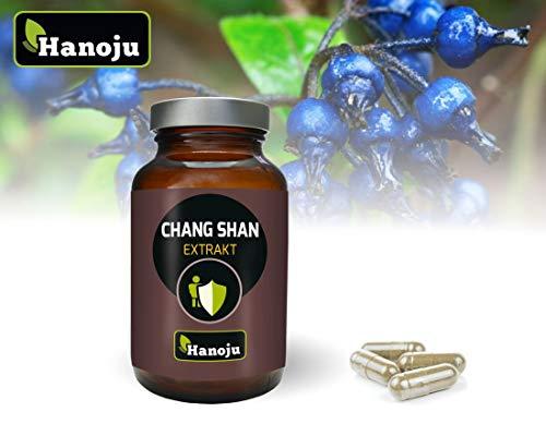 Hanoju Chang Shan Extrakt 400 mg -100% natürlich - 90 Kapseln -