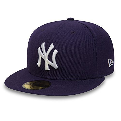 New Era 59Fifty Cap mit UD Bandana New York Yankees Purple/White #2843-7 1/8 - -