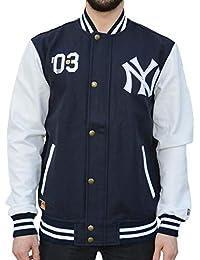A NEW ERA Era Ne90102Fa16 CT Letterman Neyyan Chaqueta-Línea York Yankees, Hombre,