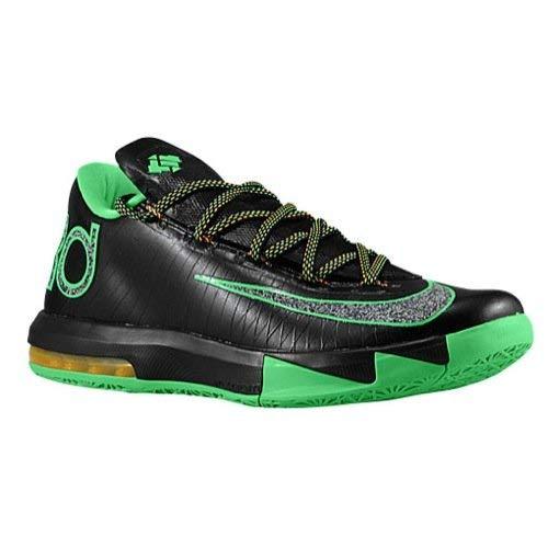 c141d8016b4a Nike KD VI (Night Vision-Brazil) Black Lucid Green-Atomic Mango