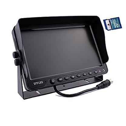 zhiren-Auto-Rear-View-Backup-Kamera-System-229-cm-Monitor-Eingebauter-DVR-Video-Aufnahme-mit-Quad-Split-Screen-5-x-CCD-Farbe-Wasserdicht-Nachtsicht-Kamera-fr-LKW-Van-Camper-Bus-RV