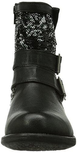 Rieker 97263 00, Bottes femme Noir (Noir Combiné)