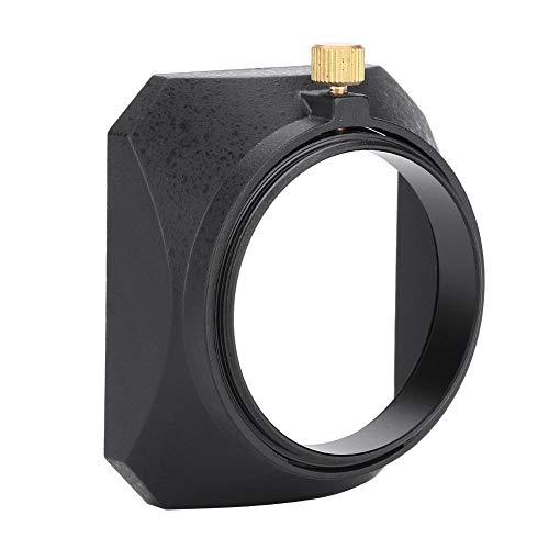 Mugast 49mm Universal Gegenlichtblende Shade DV Gegenlichtblende mit Schraubbefestigung für DV-Camcorder Digitalvideokamera Objektivfilter oder Tubusgewinde -
