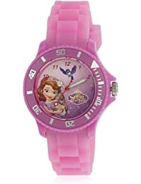 Disney Analog Multi-Colour Dial Girl's Watch - AW100441