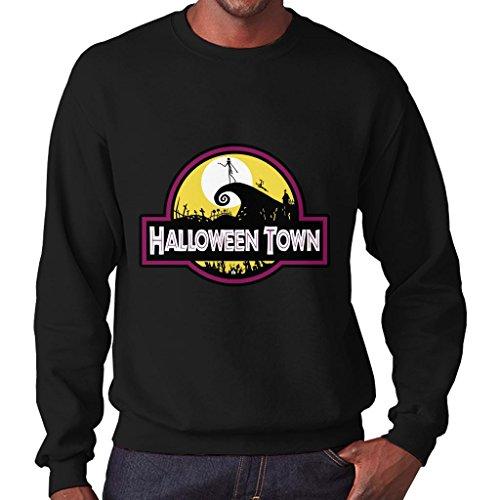 TeeTrumpet Halloween Town Nightmare Before Christmas Park Men's Sweatshirt