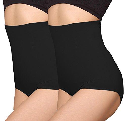 iLoveSIA Femme Culotte Gainante Taille Haute Panty Minceur avec Armature Body Gaine Amincissante...