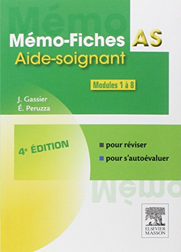 Mmo-Fiches AS - Modules 1  8: Aide-soignant