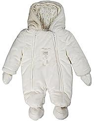 Kanz Unisex Baby Schneeanzug Overall m. Kapuze + abnehmbaren Fäustlingen 0003508