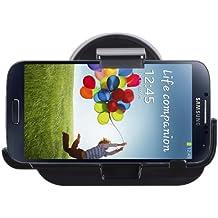 Donzo CH-SGS4 - Soporte de coche activo para Samsung Galaxy S4 GT-I9500/GT-I9505, color negro