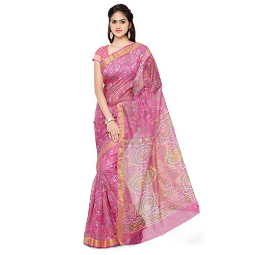 Rajnandini Cotton Saree (Joplsrs1051G_Pink)