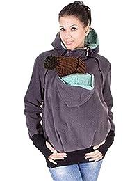 Highdas Maternidad con capucha de las mujeres con capucha para Carrier Babywearing